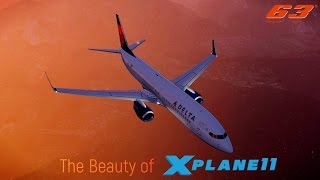 The Beauty of X Plane 11. [No 3rd party Add-ons]