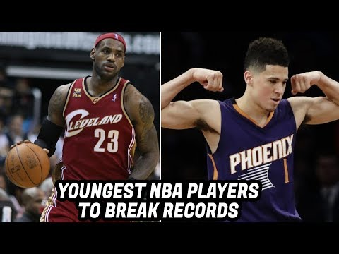 YOUNGEST NBA PLAYERS TO HAVE NBA RECORDS!