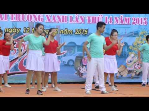 Nhảy hiện đại flasmob trường trung học cơ sở Trần Quốc Toản Quận 9
