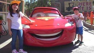 Cars カーズ ランド 海外 ディズニー アドベンチャーパーク こうくんねみちゃん おでかけ Cars Land Disney California Adventure Park