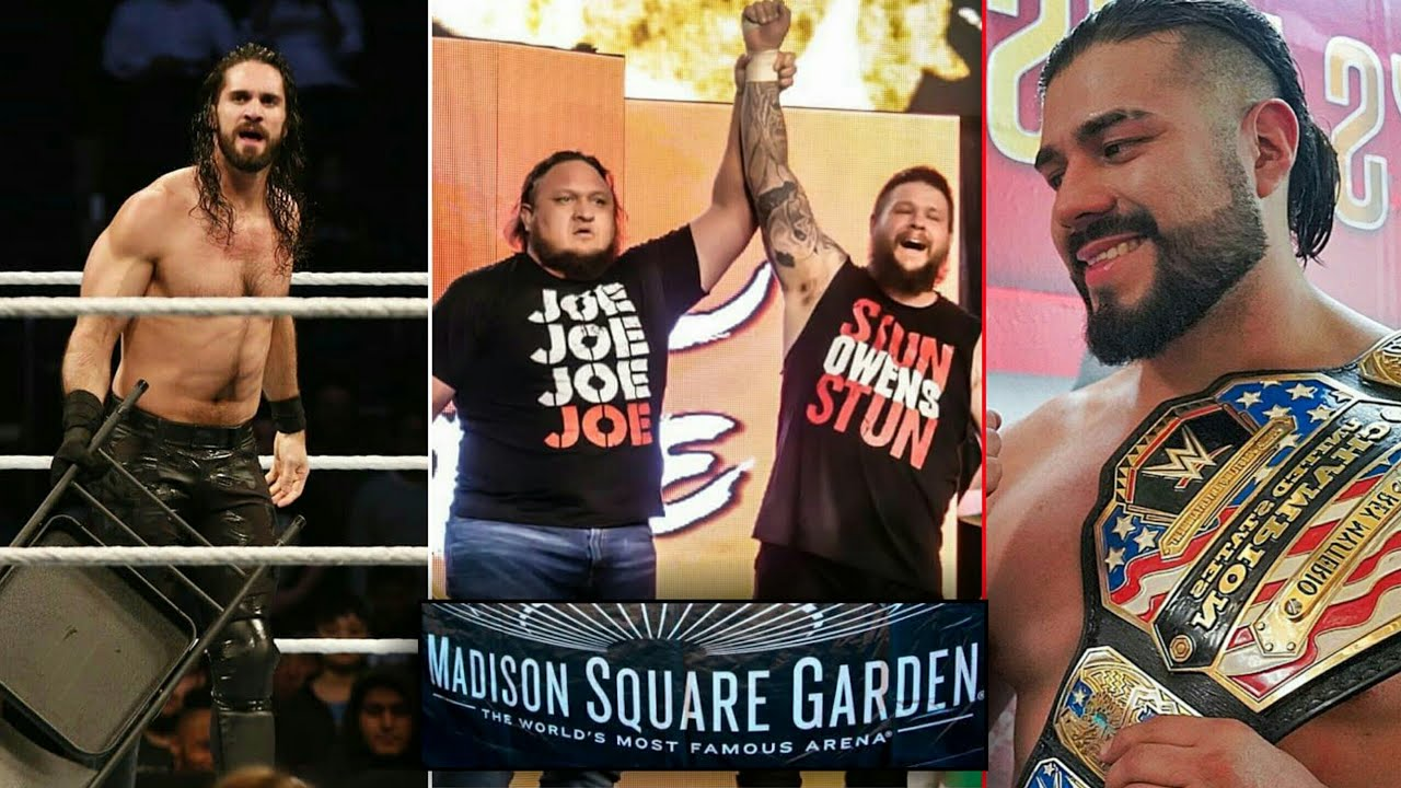 WWE Madison Square Garden Event 2019 Result,Matches,Winner,Highlights ...