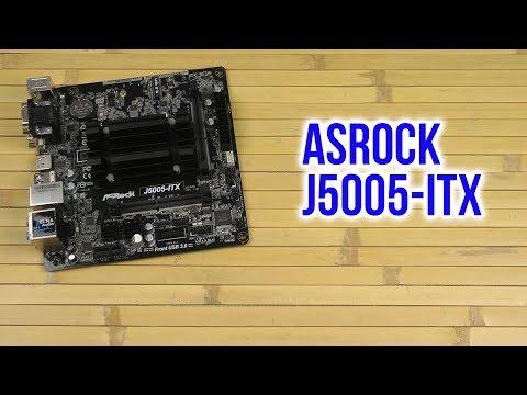 Распаковка ASRock J5005-ITX - Распаковка и демонстрация товара
