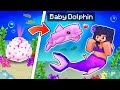 We ADOPTED Baby Dolphins As MERMAIDS in Minecraft!
