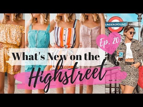 What's New on the Highstreet & Try On || Ep. 20 || Topshop, Miss Selfridge, H&M || COCOA CHELSEA