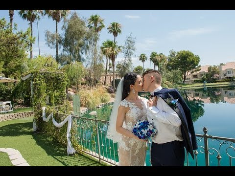 Beautiful Las Vegas Wedding At Lakeside Weddings Events