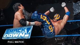 FULL MATCH: Rey Mysterio vs. Tajiri – Cruiserweight Title Match: SmackDown, September 25, 2003