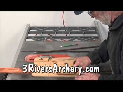 Tim's Taper Tool - Nocks and Points with a Table  Saw