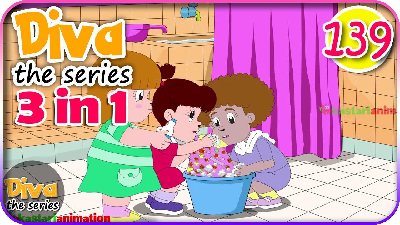 Seri Diva 3 in 1 | Kompilasi 3 Episode ~ Bagian 139 | Diva The Series Official