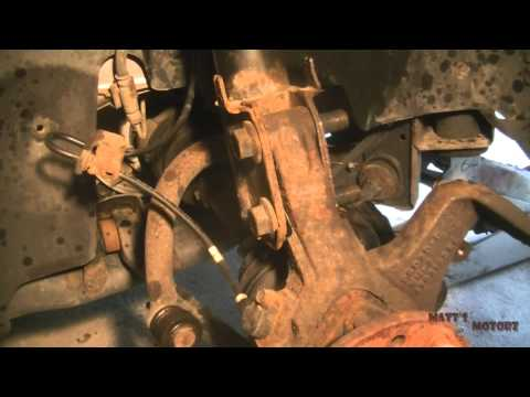 Replacing Front Struts [2000 Chrysler 300M]