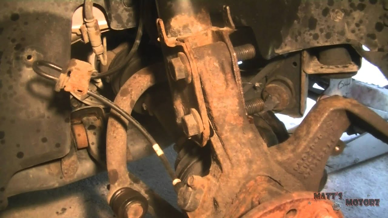 Replacing Front Struts 2000 Chrysler 300m Youtube