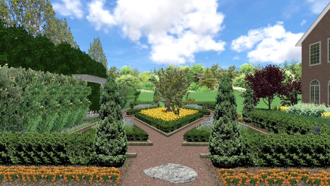 Formal Garden Design YouTube