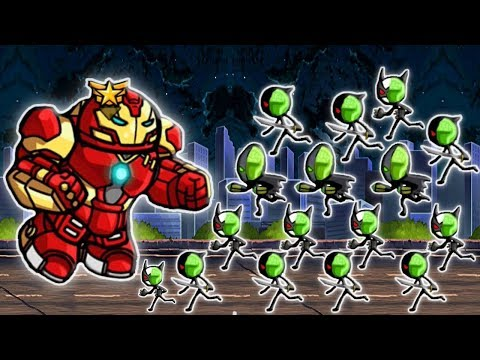 HERO WARS: Super Stickman Defense Huge Update | New Zombies Enemies Stage 200 | GamePlay 2018 FHD