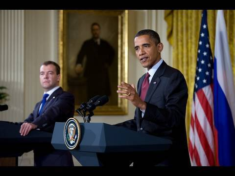 President Obama & President Medvedev Joint Press Conference