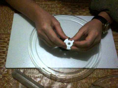 Тарелка для свч своими руками