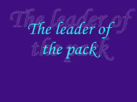 The leader of the pack lyrics
