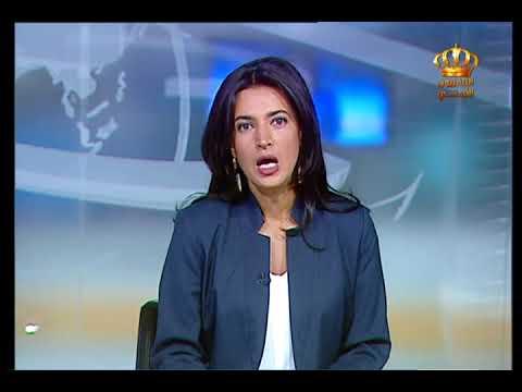 English News at Ten on Jordan Television 29-08-2017