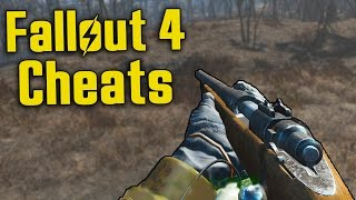 Fallout 4 Cheats - The Dark Side god mode, all items etc.