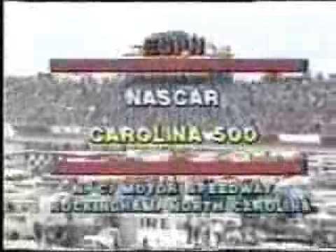 1981 NASCAR Winston Cup Carolina 500 @ Rockingham [aka ESPN's First NASCAR Telecast] (Full Race)