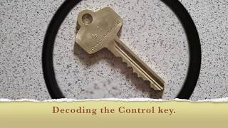 How to Decode a Control Key for Small Format Core (SFIC)