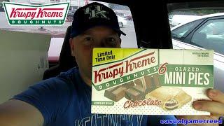 Reed Reviews Krispy Kreme Glazed Mini Pies Chocolate