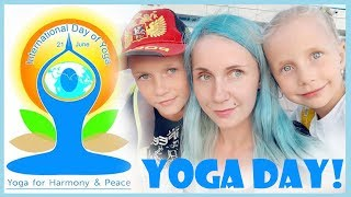 International Yoga Day in Russia / Indian Culture in a Russian Town