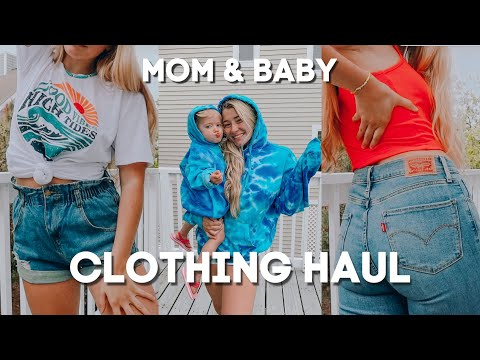 Summer Clothing Haul *amazon* // Mom And Babies!!