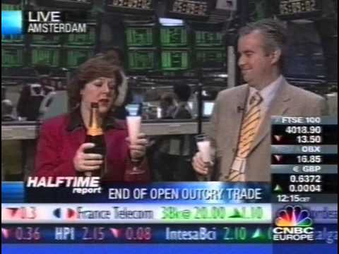 Laatste dag open outcry -CNBC 2002