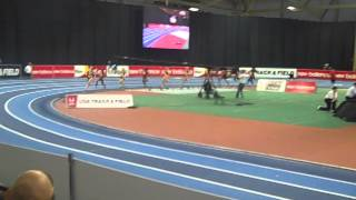 New Balance Indoor Games Mary Cain 1000m World Junior Record 2014