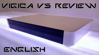 part 2: Review of the Vigica V3 Quad Core RK3288 Android TV Box (English)