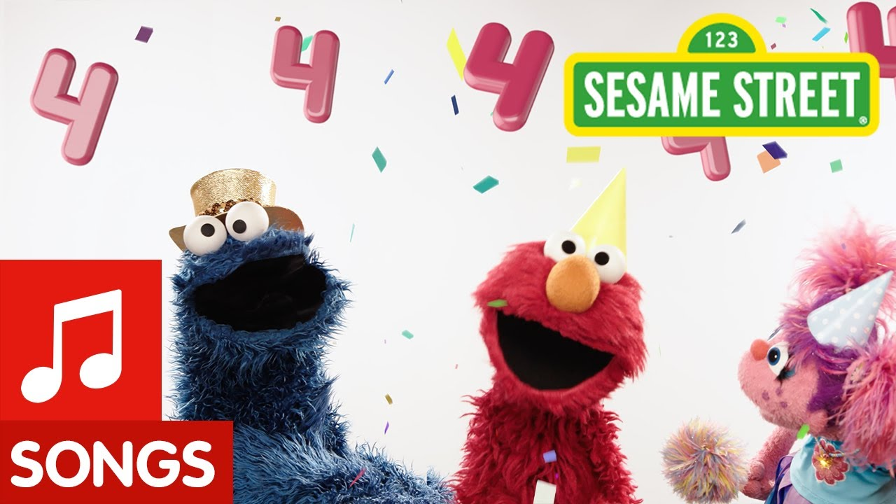 Sesame Street: Happy Birthday Song | You're Four!