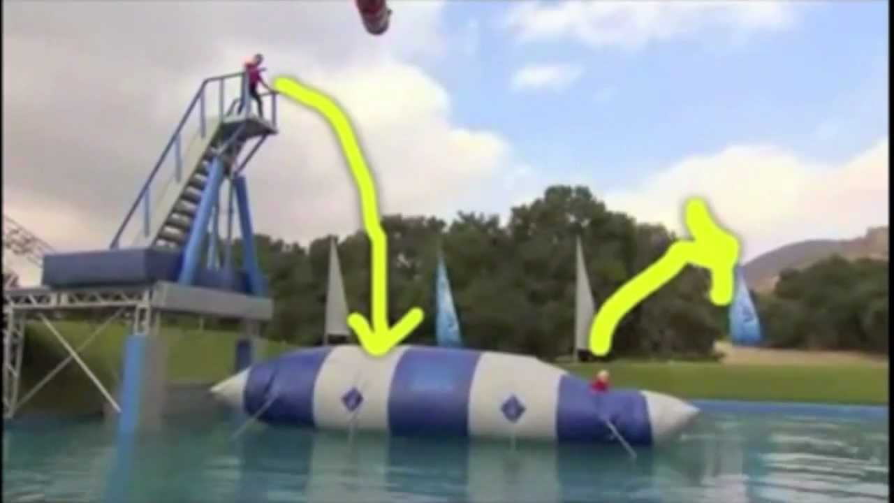 Aquaorb Super Catapulta Inflable Super Blob Distribuidores