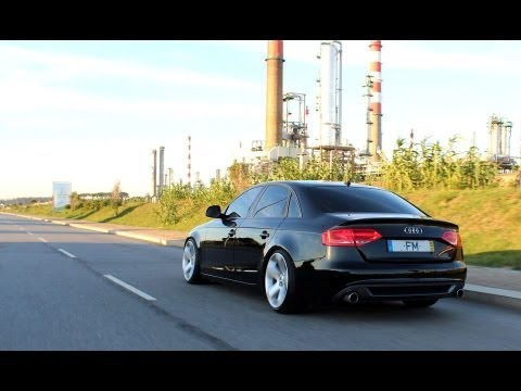 audi a4 b8 stanced project by bari youtube. Black Bedroom Furniture Sets. Home Design Ideas