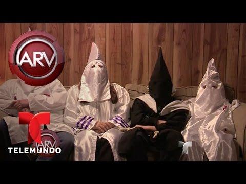 Grupo Ku Klux Klan recluta niños para que odien hispanos | Al Rojo Vivo | Telemundo