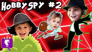 HobbySpy Part 2! Mystery Adventure with HobbyKidsTV