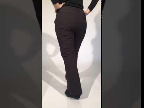 Cartel Whistler Womens Plus Size Ski Black
