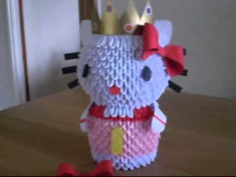 3D origami KITTY II