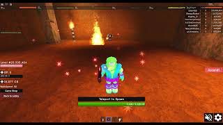 Roblox Infinity RPG - Getting Max Level