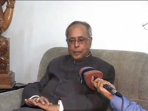 President Pranab Mukherjee's Interview