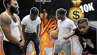 2V2 BASKETBALL W/ CLARENCENYC, MODDAGOD TV, AND DDG FOR 10,000 DOLLARS!
