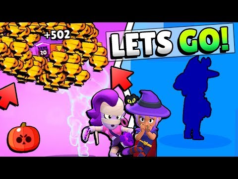 +500 TROPHIES AT ONCE WITH EMZ & UNLOCKING NEW WITCH SHELLY SKIN!