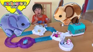PET MOUSE TOYS for kids - Interactive Little Live Pets Lil Mouse House Trail Playtime