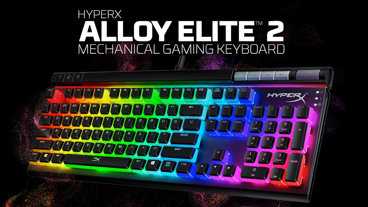 HyperX Alloy Elite 2: gamingtastatur | Barnevakten