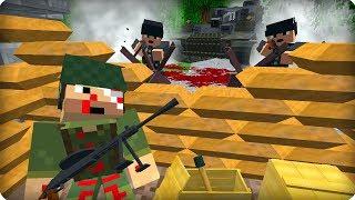 Вторая Мировая Война [ЧАСТЬ 16] Call of duty в Майнкрафт! - (Minecraft - Сериал)