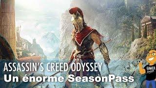 Un ENORME SEASON PASS pour le jeu ASSASSIN'S CREED ODYSSEY !