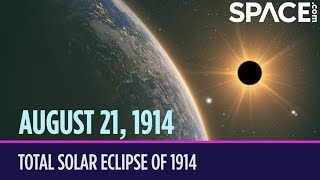 OTD in Space – Aug. 21: Total Solar Eclipse Expedition Crashed by WWI