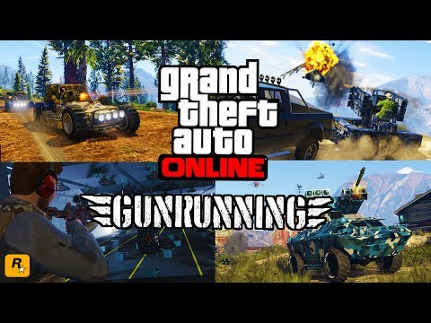 GTA 5 GUNRUNNING DLC $$$60,000,000 SPENDING SPREE!! - NEW GTA 5 GUN RUNNING DLC SHOWCASE