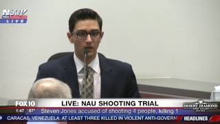 MUST WATCH: NAU Shooting Suspect STEVEN JONES Testifies and Claims Self-Defense During Trial (FNN)