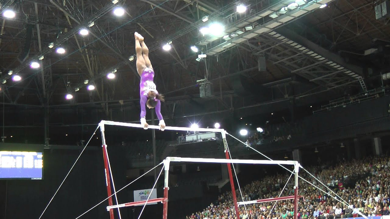 Simone Biles - Uneven Bars - 2013 World Championships ...