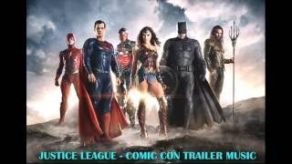 justice league 2017 comic con trailer song the white stripes icky thump