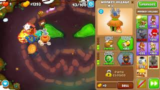 Bloons TD 6 - Hard, Chimps , Carved, (NO MONKEY KNOWLEDGE)
